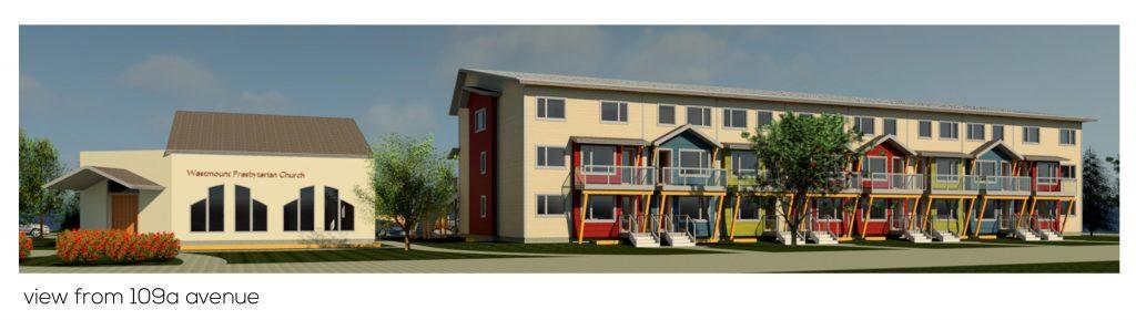 Westmount Presbyterian Church Site Redevelopment Concept
